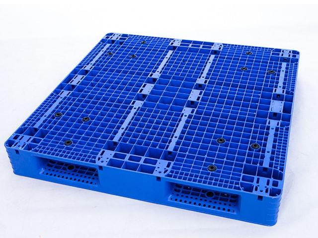 济南塑料托盘生产厂家供应1111双面塑料托盘