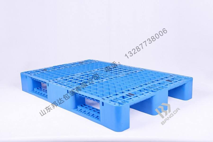 山东货架塑料托盘-1210川字网格塑料托盘