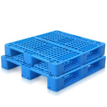 网格塑料川字托盘_叉车板垫仓板_长方型物流仓库防潮托盘卡板_全新料