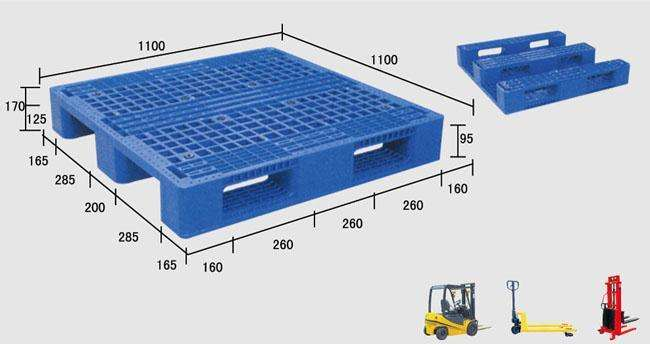 立体仓库专用塑料托盘